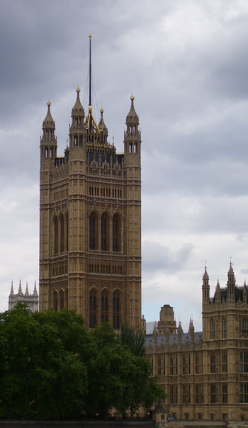 lightning protection - Houses of Parliament